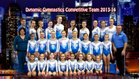 Dynamic Gymnastics Team 2013-14